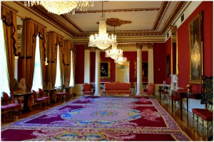 The ladies informal drawing room