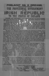 Treaty for Independence from England that started a brief and bloody 1919 rebellion.
