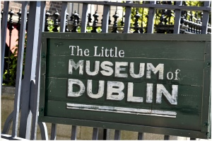 Directly Across from St. Stephen's is the Little Museum of Dublin