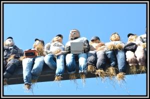 Scarecrow Festival Preparations