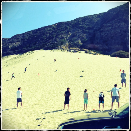 Sand dunes on PCH
