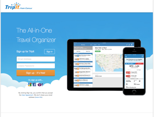 Tripit- Best App for Keeping Organized During Travel