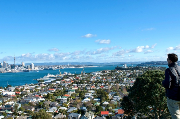 Davenport to Auckland (check out the naval ships).