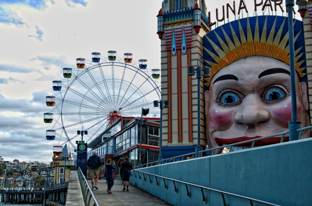 Luna Park, Our Last Stop in Sydney
