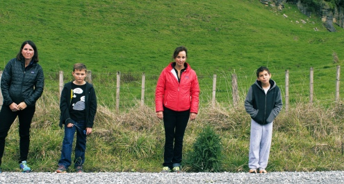 At the thought of leaving NZ, four dejected tourists hatch a plan.