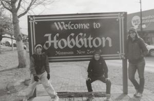 The Hobbiton Sign in Matamata